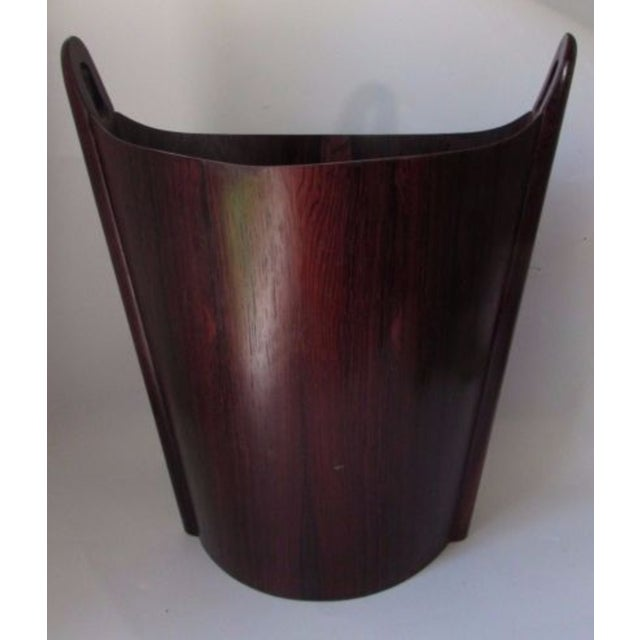 Image of Einar Barnes for Ps Heggen Norwegian Rosewood Trash Can
