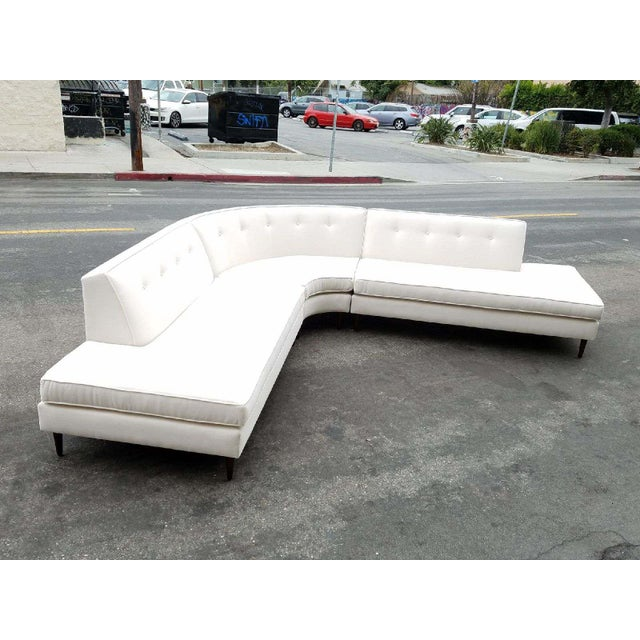 Vintage Oatmeal 3-Piece Sectional - Image 6 of 7
