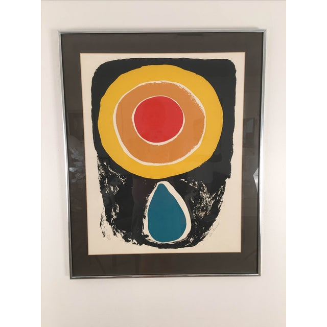 Image of Vintage Abstract Lithograph