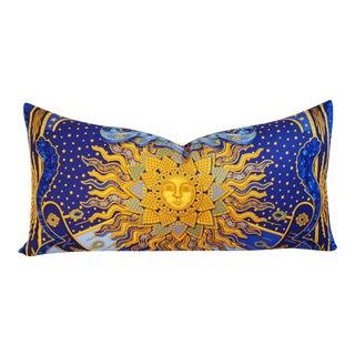 Designer Hermes Carpe Diem by Joachim Metz Pillow