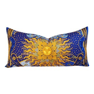 Designer Hermes Carpe Diem by Joachim Metz Pillow