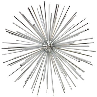Curtis Jere Large Chrome Sputnik Sculpture