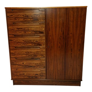 Danish Modern Rosewood High Dresser