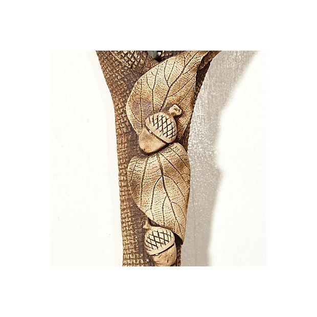 Handmade Ceramic Lily Wall Hanging - Image 3 of 7