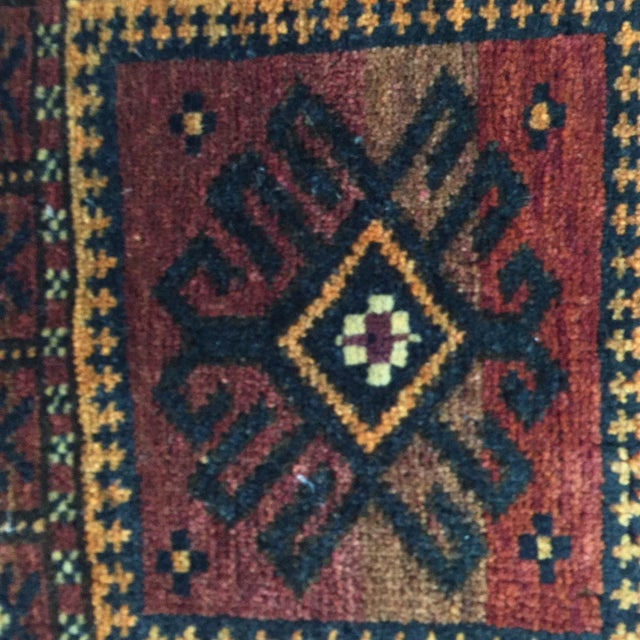 Balluchi Persian Rug - 1′10″ × 1′10″ - Image 5 of 8