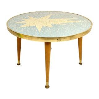 Mid-Century Mosaic Top Table