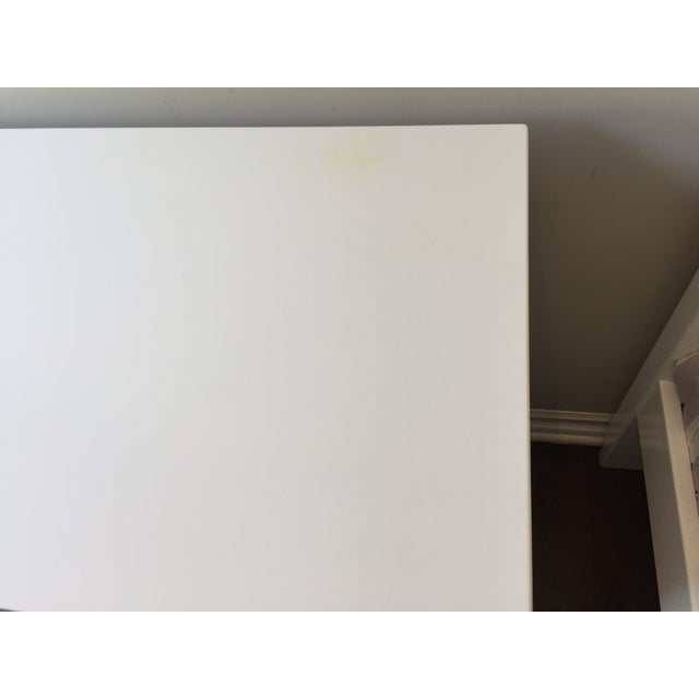 Image of Room & Board White Moda Dresser