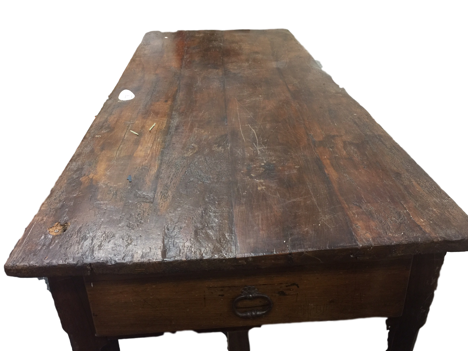 Image Of French Antique Farm Table