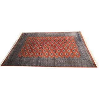 Red Rust/Cream Royal Bokhara Rug - 8′3″ × 11′3″