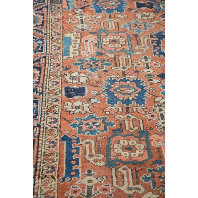 Vintage Heriz Carpet- 7′4″ × 10′1″ - Image 10 of 10