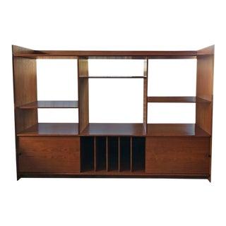 Teak Danish Bookshelf