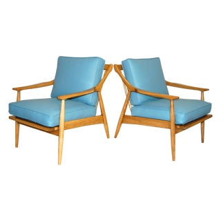 Danish Modern Club Chairs - Pair