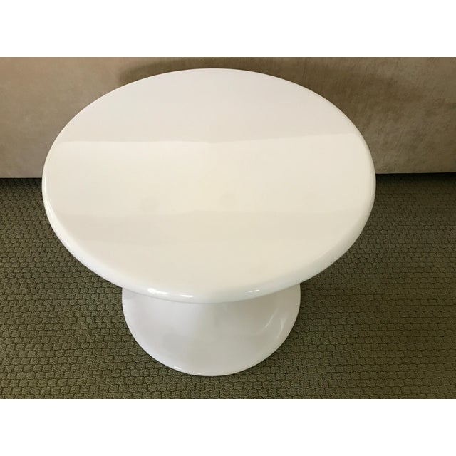 Saarinen Style Tulip Side Table - Image 4 of 8