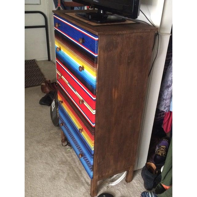 Mexican Blanket Dresser - Image 4 of 4