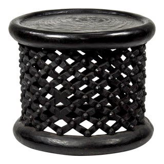 African Bamileke Tribe Spider Table/ Stool