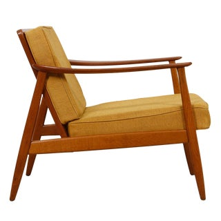 1950's Folke Ohlsson Swedish Teak Lounge Chair