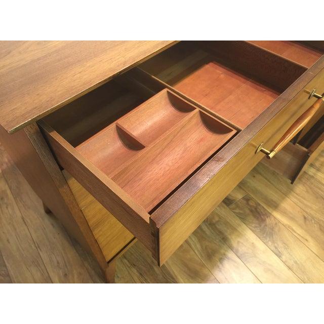 Heritage Henredon Mid Century Lowboy Dresser - Image 10 of 11