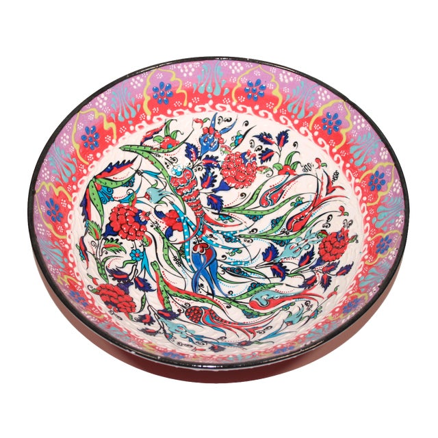 Multicolor Hand Made Turkish Bowl - Image 1 of 5