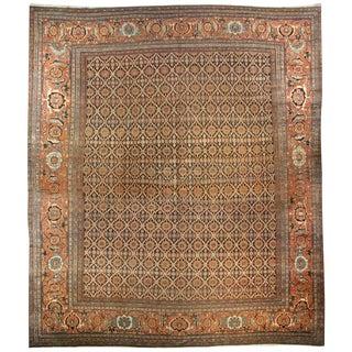 19th Century Persian Sultanabad Rug