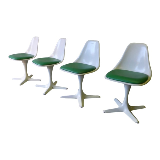 Mid Century ModernTulip Dining Chairs by Burke - Image 1 of 5