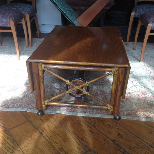 McGuire Convertible Coffee Table - Image 2 of 8