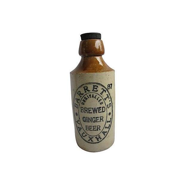 Antique English Ironstone Ginger Beer Bottle - Image 1 of 4