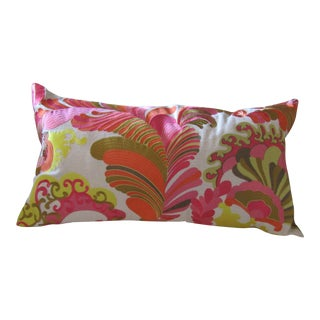 Trina Turk Embroidered Linen Pillow
