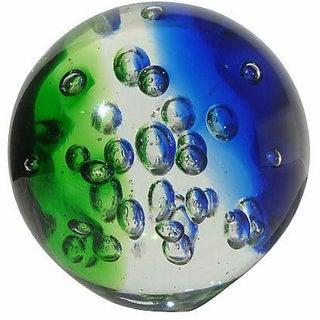 Vintage Glass Bullicante Glass Orb