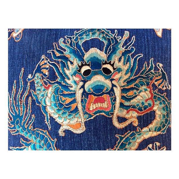 Emperor's Opera Robe Dragon Pillow - Image 2 of 4