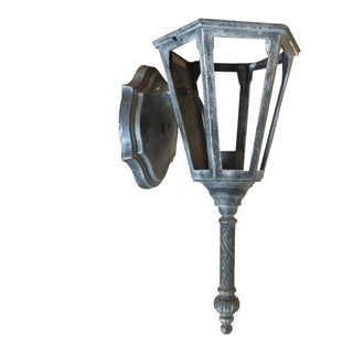 1970s Industrial Rustic Wall Sconce