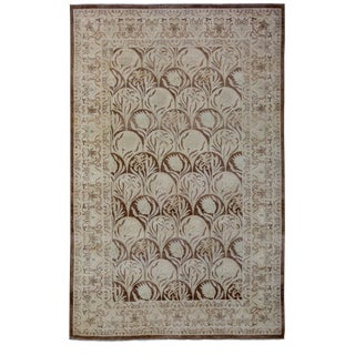 """Oushak Hand Knotted Area Rug - 5'0"""" X 7'10"""""""