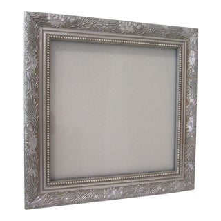 Silver Ornate Square Frame