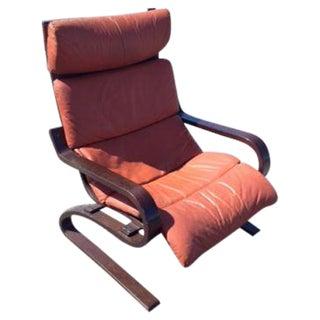 Danish Mid-Century Bent Wood Arm Chair