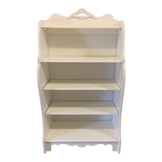 Stanley Furniture Shabby Chic Antique White Children's Bookcase