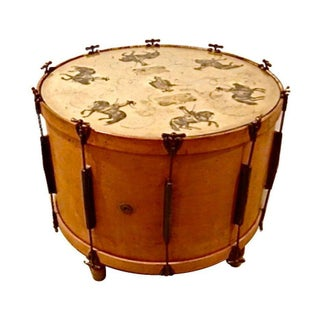 Equestrian Drum Table