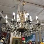 Image of Vintage Twenty Light Crystal Chandelier