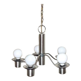 Lightolier Mid-Century Chandelier
