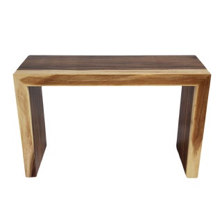Monkey Pod Console Table