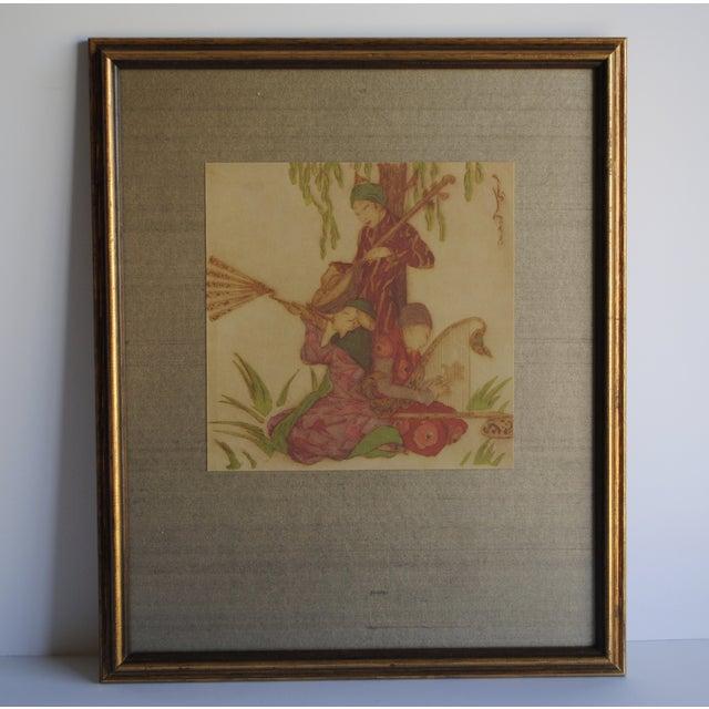 Vintage Asian Prints - Set of 2 - Image 4 of 10