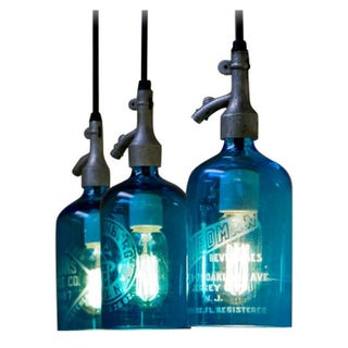 Seltzer Bottle Lighting Fixtures - 3