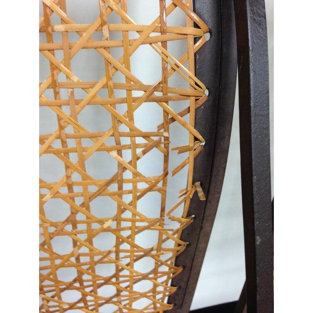 John Vesey Mid-Century Cane Back Chairs - Set of 4 - Image 6 of 10