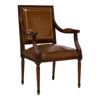 Louis XVI Style Antique French Armchair