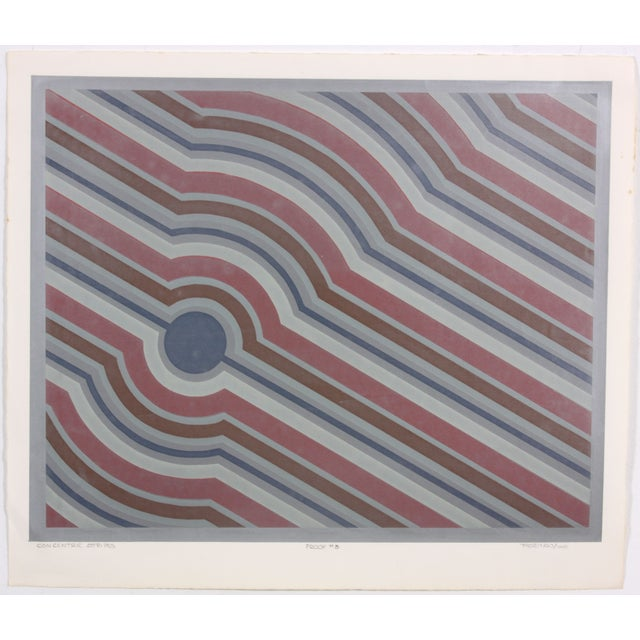 Concentric Stripes, C. 1970 - Image 2 of 7