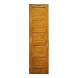 Single Oak Door