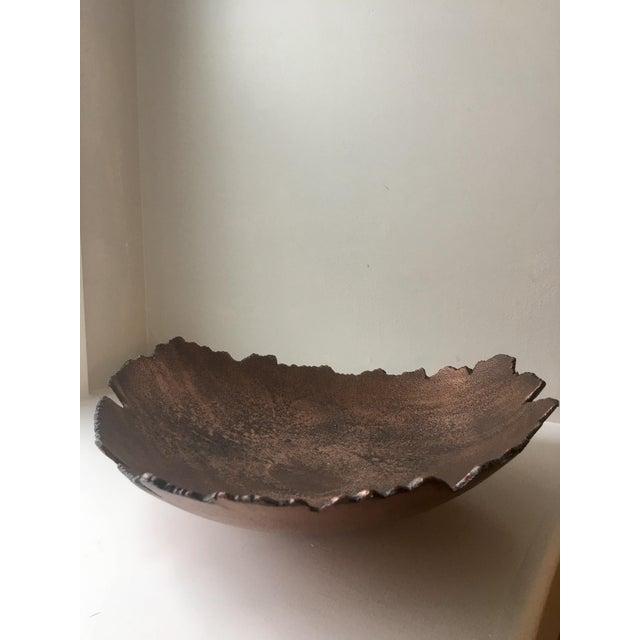 Image of Vintage Brutalist Jagged Edge Bowl
