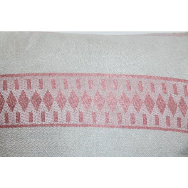 American Floral Tea Towel Pillow - Image 5 of 6