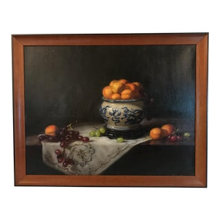 Charles Muench Oil On Canvas Still Life