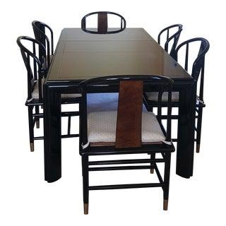 Frank Lloyd Wright Henredon Scene Three Dining Set