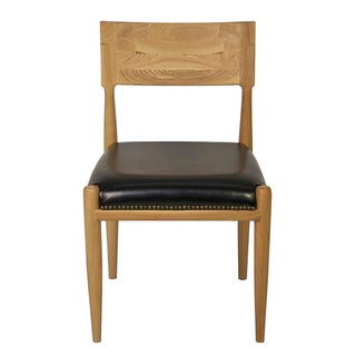Batley Elm Wood Desk Chair