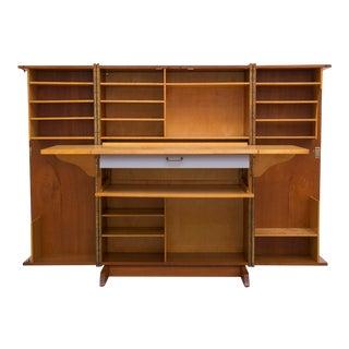 """Mummenthaler & Meier """"Magic Box"""" Folding Desk Cabinet"""